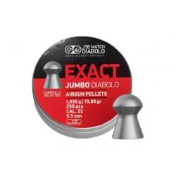 śrut EXACT JUMBO DIABOLO 5,5mm