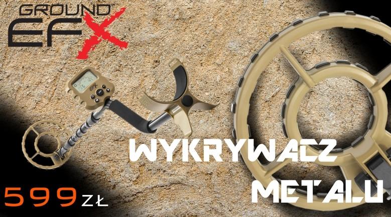 """WYKRYWACZ METALU WGI EFX MX50 8"""""""